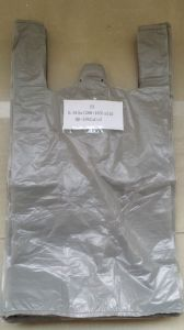 Grey HD T-Shirt Plastic Bag pictures & photos