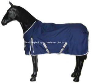 1200d Ripstop Waterproof Winter Horse Rug (SMR1573B) pictures & photos