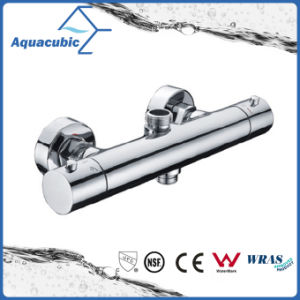 Bathroom Thermostatic Double Handle Faucet (AF4322-7) pictures & photos