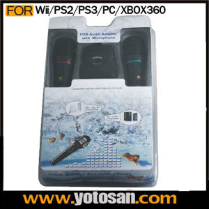 Karaoke Mic Microphone for Wii PS3 xBox 360 PS2 PC PS3 pictures & photos