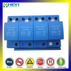 Ly1-B (10/350) 12.5ka 4pole AC Switch Type High Energy Surge Protective Device Lightning Arrester pictures & photos