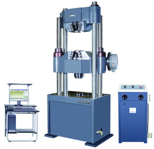 Hydraulic Universal Testing Machine TIME WEW-300C pictures & photos