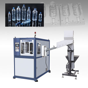 CE Approved with Ax Down Blow Series Automatic Blow Molding Machine (CSD-AX1-2.5L) pictures & photos