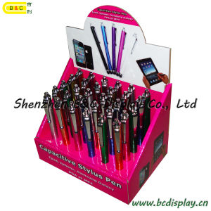for iPad iPhone Telephone Handwriting Pen Counter PDQ Box, Paper Box, PDQ Display Box (B&C-D026) pictures & photos