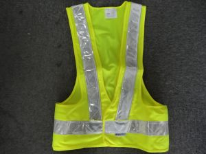 EL Safety Vest with 3m Reflective Tape