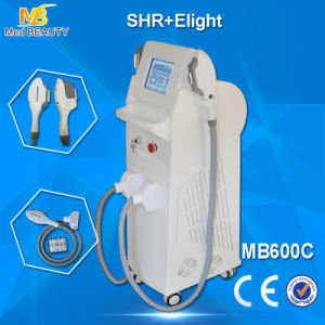 IPL Laser Hair Removal Machine & Shr Hair Removal with Double Handles pictures & photos