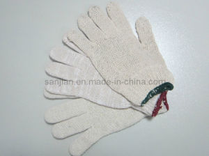 Thin Cotton Glove, Cotton Knitted Glove pictures & photos