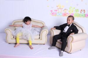 Classic Children Nursery Furniture PU Leatehr Sofa (SXBB-345) pictures & photos