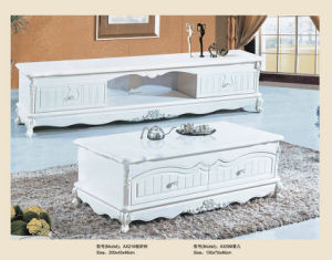 French Style MDF Frame TV Stand and Table (A21) pictures & photos