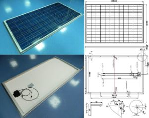 18V 195W 200W 205W 210W Polycrystalline Solar Panel PV Module with IEC61215 IEC61730 Approved pictures & photos