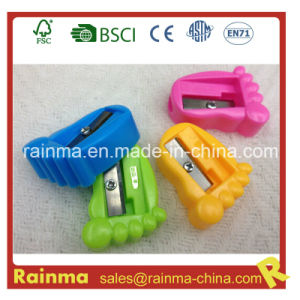 Foot Shaped Kids Pencil Sharpener pictures & photos