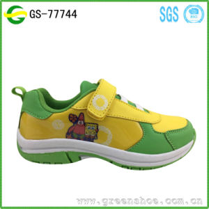 Hot Seller Customized Printed Cartoon Shoes for Girls Child Shoes pictures & photos