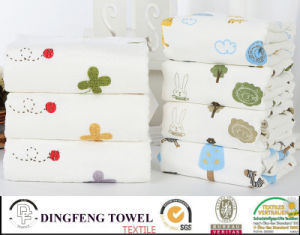 Nature Organic Printed 100% Bamboo Bath Towel Df-N140 pictures & photos