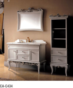 Solid Wood Bathroom Cabinet Ca-C434 pictures & photos