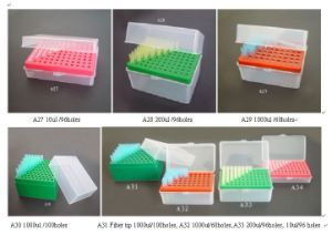 Disposable Consumable Laboratory Pipette Tips Box (A27-A34) pictures & photos