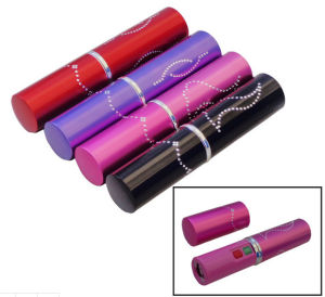 Aluminium Alloy Stun Gun Flashlight Shocker for Ladies Self Protection (TW-328) pictures & photos