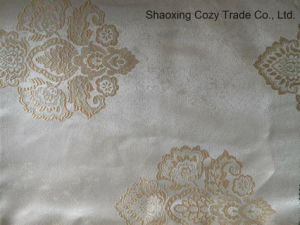 100%Polyester Luxury Jacquard Curtain Fabric pictures & photos