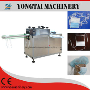 Semi-Automatic Disposable Nonwoven Tie on Mask Welding Machine pictures & photos