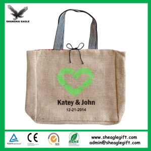 Customized Eco Friendly Fashion Cheap Jute Bags pictures & photos