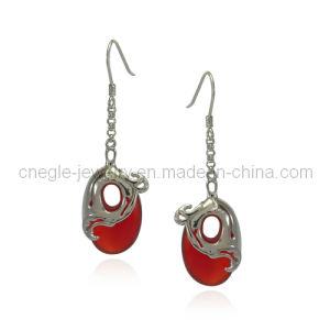 925 Sterling Silver Dangle Earring (K52E009)