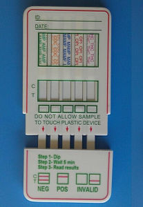 Drug DIP Panel Test Cassette/Multi-Drug Panel Test Card/Doa-5 DIP Panel Test pictures & photos