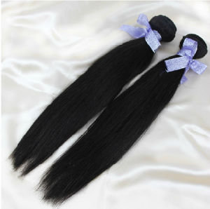 6A Peruvian Virgin Hair Straight 3bundles Dark Brown #2 Light Brown #4 Virgin Peruvian Hair Cheap Human Hair Extension No Tangle pictures & photos