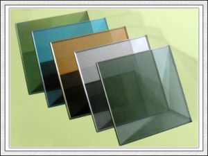 3-12mm Green/Blue/Bronze/Clear/Pink Reflective Glass pictures & photos