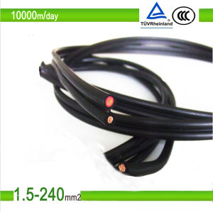 PV1-F/TUV/UL Approved 600/1000V DC Solar Cable 4mm pictures & photos