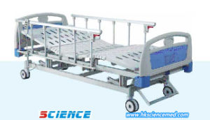 Steel Electric Hospital Bed with Three Functions pictures & photos