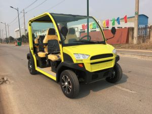 A7 Electric Golf Car of 4 Seater pictures & photos