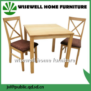 Wood Dining Room Furniture Set with 2 Chairs (W-DF-9032) pictures & photos