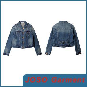 Women Denim Short Jacket (JC4017) pictures & photos