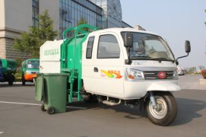 Garbage Three Wheel Truck pictures & photos