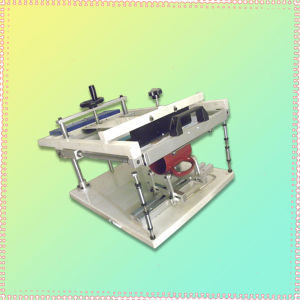 Cylindrical Manual Screen Printing Machine