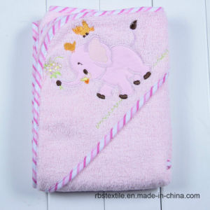 Promotional Cotton Hooded Bath Towel for Baby/Kids pictures & photos