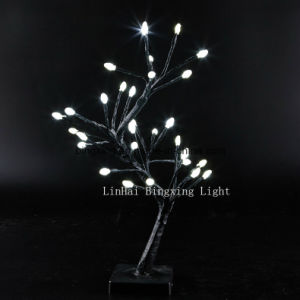 32 PC LED Battery Operated Table Top Indoor Christmas Decorative Tree Light