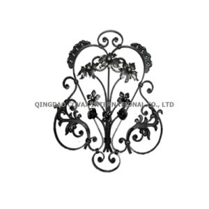 Forged Flower Panel 11055 Wrought Iron Rosette pictures & photos