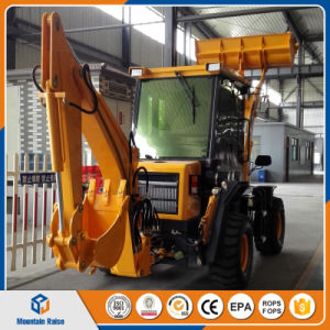 Chinese Manufacturer Compact Mini Backhoe Loader with Lowest Price pictures & photos
