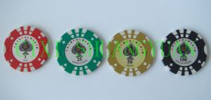 14G 2color Sticker Poker Chip (SY-E24) pictures & photos