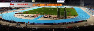 Prefabricated Natural Rubber Running Track pictures & photos