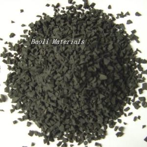 Manufacturer of Recycled Rubber Granule for Rubber Track Located in Hangzhou