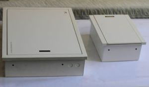 Custom Made Electric Cabinet with Powder Coating Finish pictures & photos