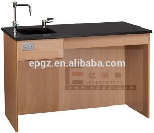 Laboratory Table, Lab Desk with Sink Drawers, Lab Furniture Made in Guangzhou (GT-26) pictures & photos