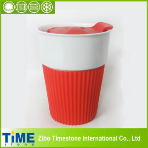 High Quality Fine Porcelain Tea Travel Mug (15032702) pictures & photos