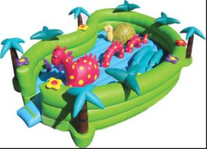 Inflatable Dinosaur Playground (CW-086)