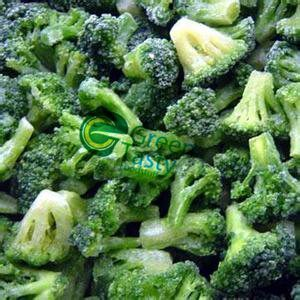 IQF Frozen Broccoli Florets of High Quality