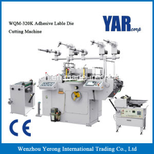 Low Price Wqm-320k Adhesive Label Die-Cutting Machine with Ce pictures & photos