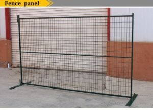 Temporary Security Construction Fence Panels for Canada 6FT X 10FT Powder Coated Fence Panels pictures & photos