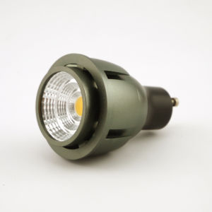 Aluminum 7W COB Recessed LED Light Bulb GU10 Bulb pictures & photos