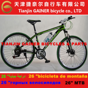 "Tianjin Gainer 26"" Aluminum MTB Bicycle 21sp pictures & photos"